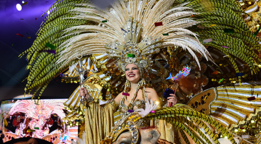 CARNIVAL 2016 Cecilia Navarro, Queen of the Action