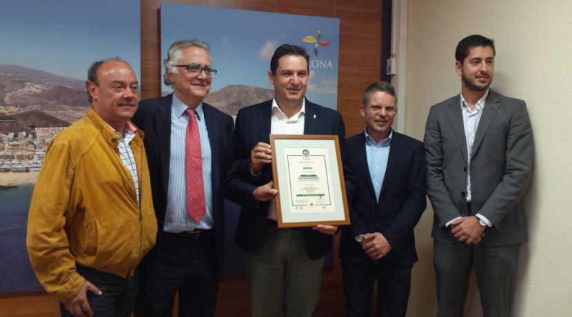 Arona, Tenerife becomes the first sustainable tourism destination Canary Islands 2016