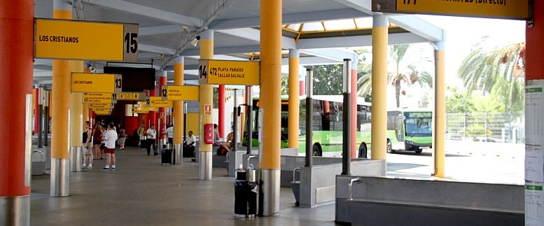 Free high-speed WiFi connection 50 megas is available in the bus stations of Costa Adeje, Santa Cruz de Tenerife, La Laguna and Puerto de la Cruz