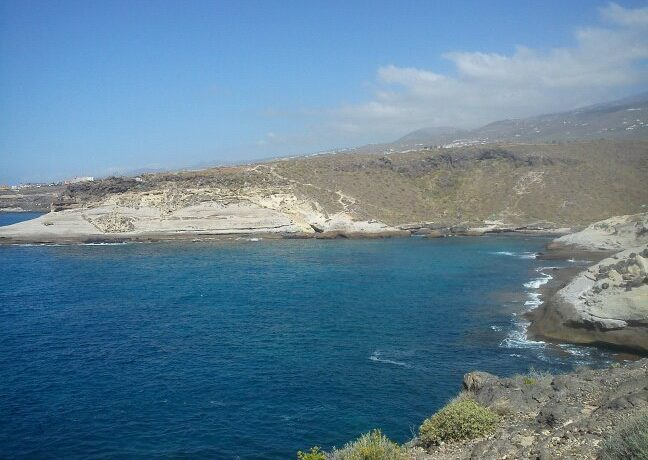 Island Council of Tenerife builds a new road that will connect tourist areas Costa Adeje and Playa Paraiso