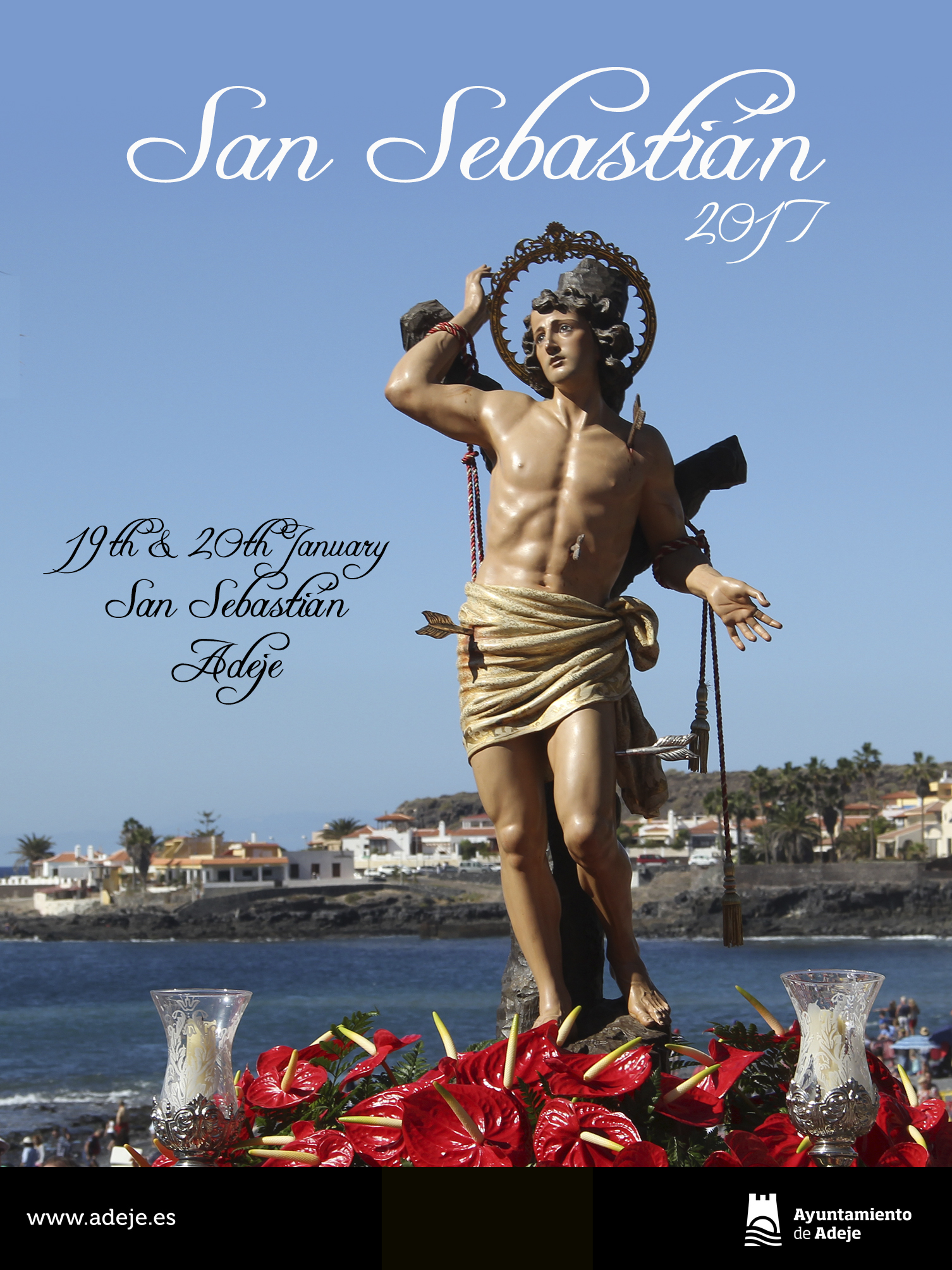 On January 20th 2017 Adeje celebrates San Sebastián, one of the oldest fiestas in Tenerife