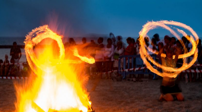 On June 23, 2018 people will come to the beachPlaya Fanabe (Adeje, Tenerife) to celebrate the night of the San Juan bonfires.