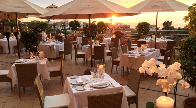 Tenerife's Hotel Botanico opens the terrace of its famous Italian restaurant 'Il Pappagallo' to welcome the summer