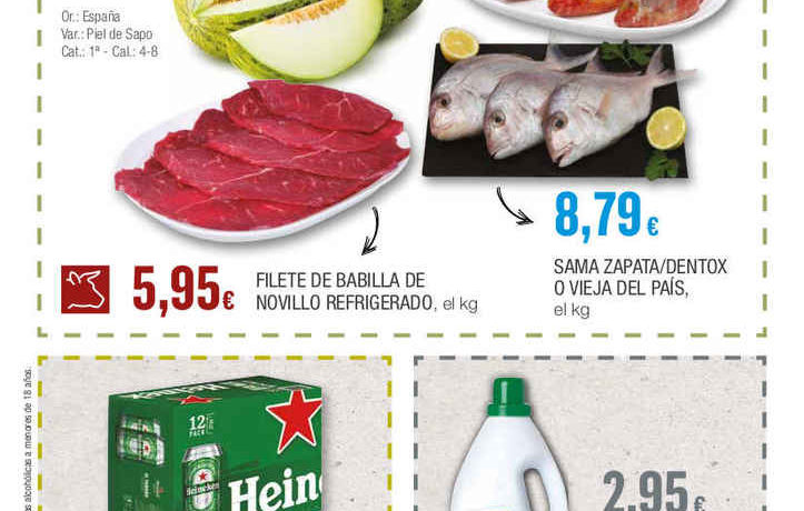 Tenerife food and drink prices - August 2019