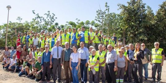 Adeje Tenerife starts with Robert F. Kennedy sowing Productive Forest